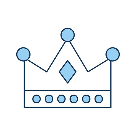 queen crown isolated icon vector illustration design Imagens - 82229679