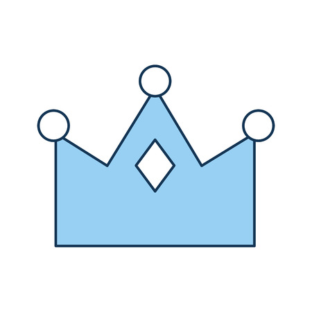 queen crown isolated icon vector illustration design Imagens - 82229680