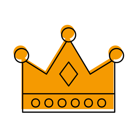 queen crown isolated icon vector illustration design Imagens - 82229637
