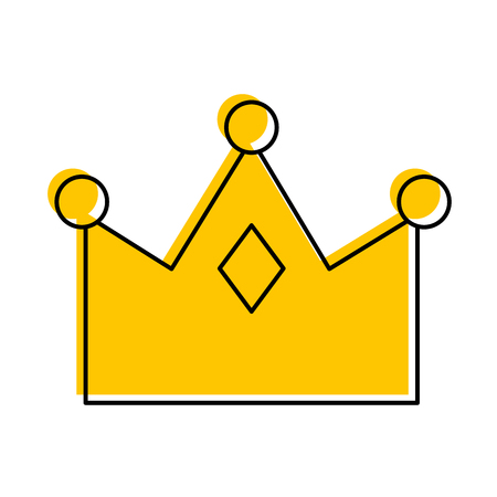 queen crown isolated icon vector illustration design Imagens - 82229562