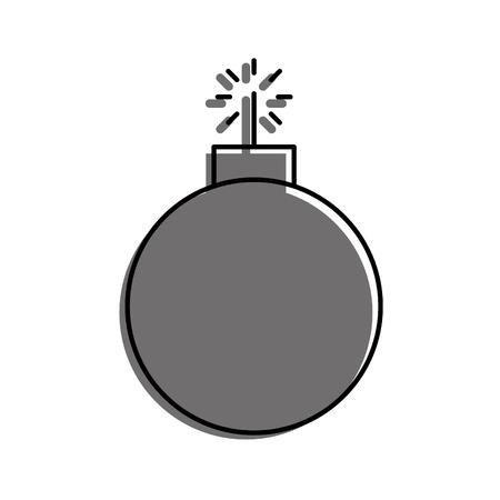 爆発的なブームのアイコン ベクトル イラスト デザインを分離しました。