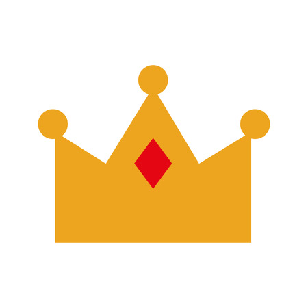 queen crown isolated icon vector illustration design Imagens - 82229747