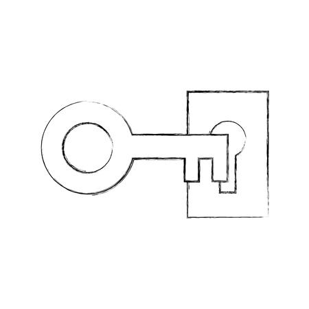Icona antica isolato icona illustrazione vettoriale di progettazione Archivio Fotografico - 82230058