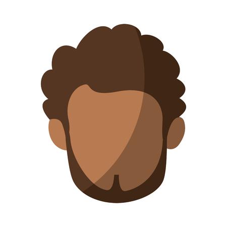 Homme isolé visage icône vector illustration design graphique Banque d'images - 82261701