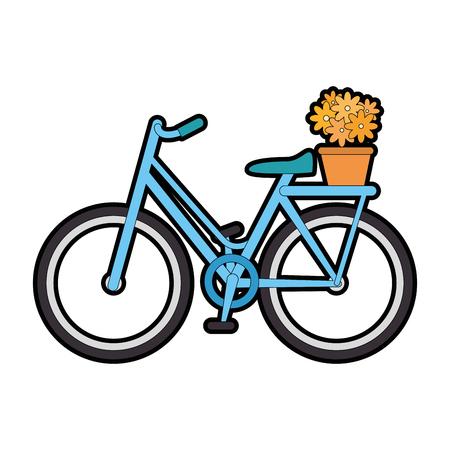 Illustrazione vettoriale icona di bicicletta isolato illustrazione grafica Archivio Fotografico - 82262652