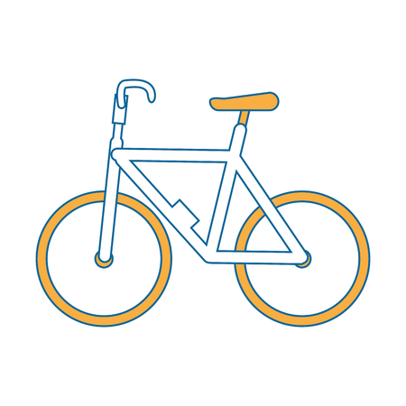 isolated cute bicycle icon vector illustration graphic design Stock Vector - 82265722
