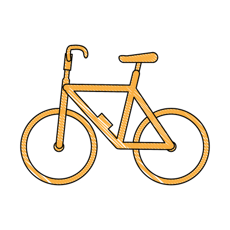 isolated cute bicycle icon vector illustration graphic design Illustration