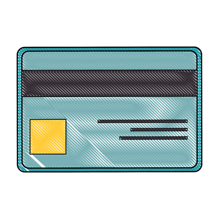 isolated credit card icon vector illustration graphic design