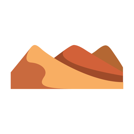 big mountains isolated icon vector illustration design Reklamní fotografie - 82353507