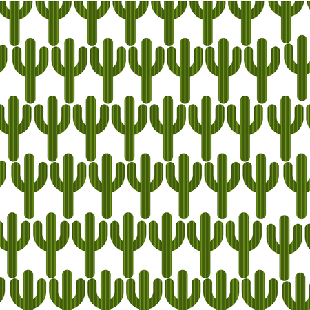 backgrouns: cactus plant pattern background vector illustration design Illustration