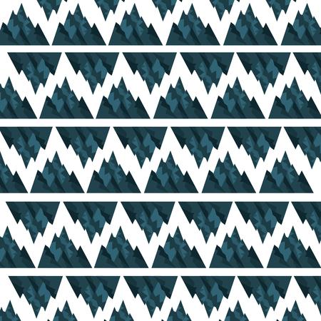 big mountains pattern background vector illustration design Illustration
