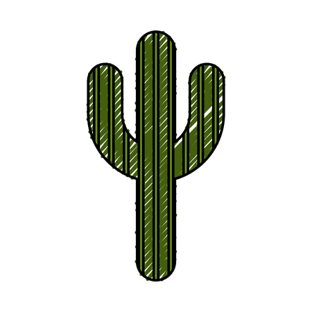 cactus plant isolated icon vector illustration design Illustration