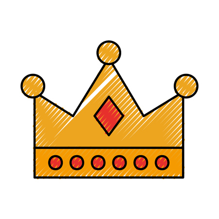 queen crown isolated icon vector illustration design Imagens - 82356467