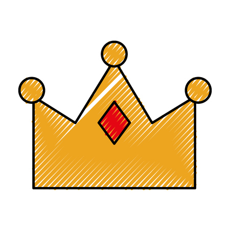queen crown isolated icon vector illustration design Stock Vector - 82356468