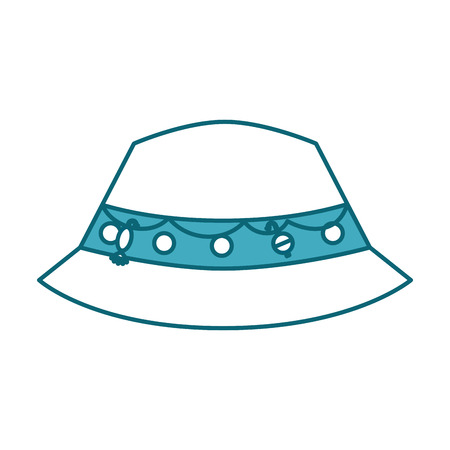 fisher hat isolated icon vector illustration design Иллюстрация