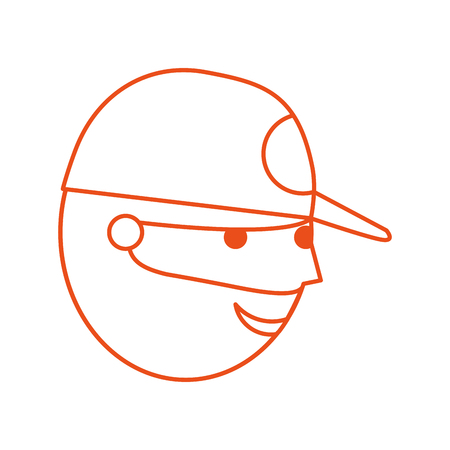 fisherman with hat avatar character vector illustration design