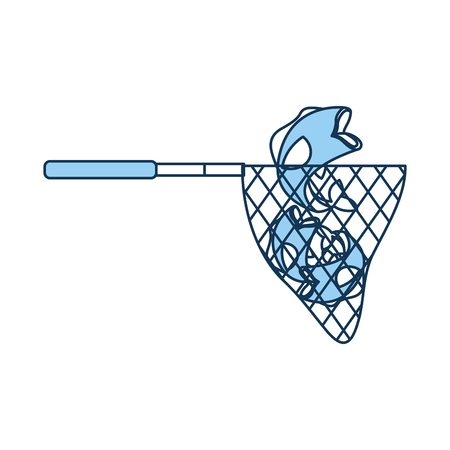 fishing net isolated icon vector illustration design Ilustracja