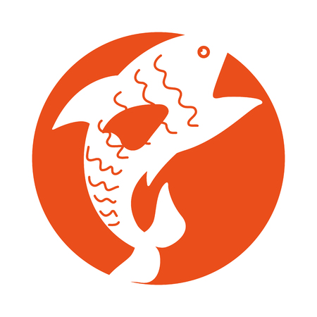 sea fish isolated icon vector illustration design