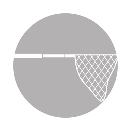 fishing net isolated icon vector illustration design Illustration