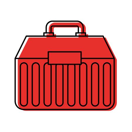 釣りキット ボックス アイコン ベクトル イラスト デザイン  イラスト・ベクター素材