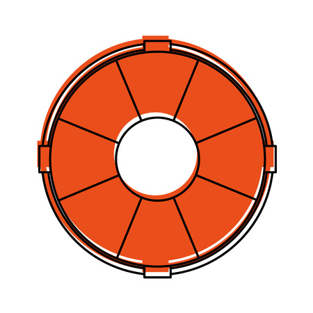 근 위 기병 연대 격리 된 아이콘 벡터 일러스트 레이 션 디자인 일러스트