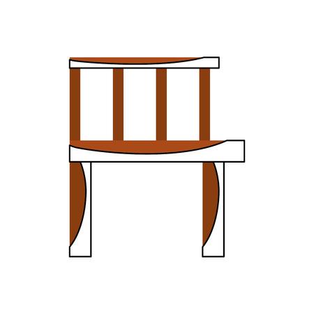 Pier en bois isolé icône vector illustration design Banque d'images - 82359190