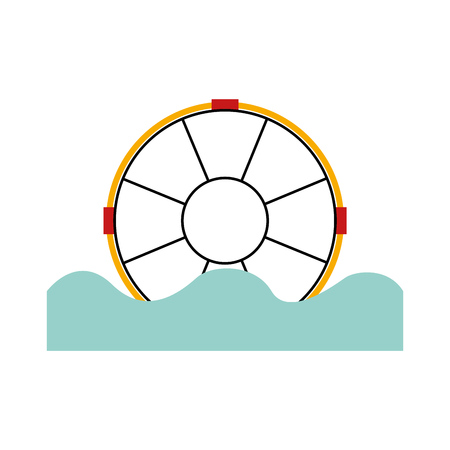 float lifeguard isolated icon vector illustration design