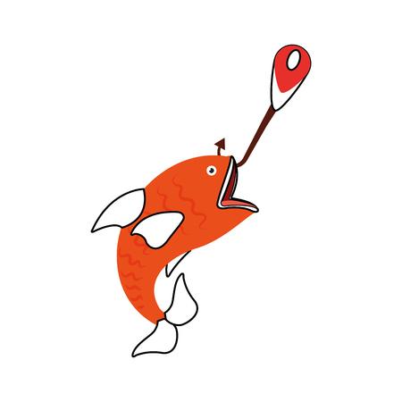 fish hook isolated icon vector illustration design 版權商用圖片 - 82360075
