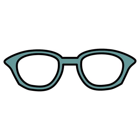 Het pictogramontwerp van oogglazen geïsoleerd pictogram Stockfoto - 82406225