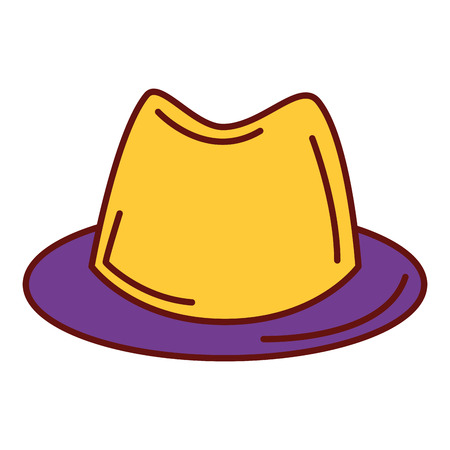 old people: gentleman hat isolated icon vector illustration design