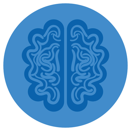 brain storm isolated icon vector illustration design Stok Fotoğraf - 82406633