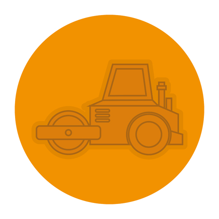 planer construction isolated icon vector illustration design Illustration