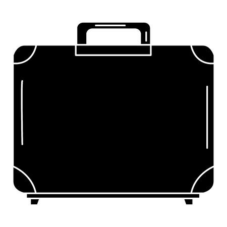portfolio aktetas geïsoleerd pictogram vectorillustratieontwerp