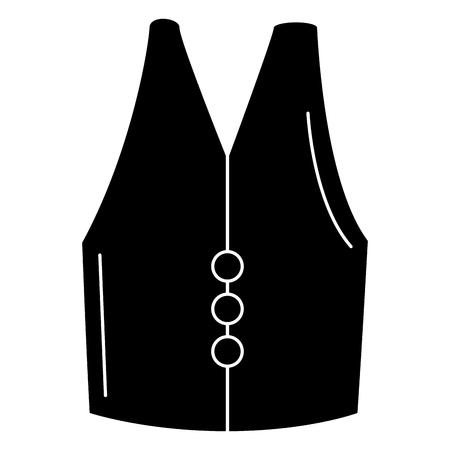 jacket construction isolated icon vector illustration design Иллюстрация