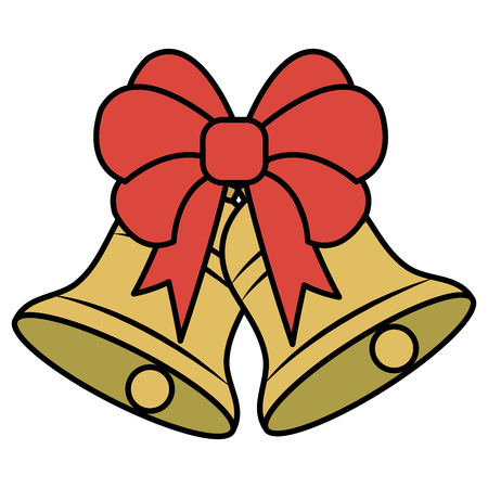 christmas bell decorative icon vector illustration design Stock Vector - 82408900