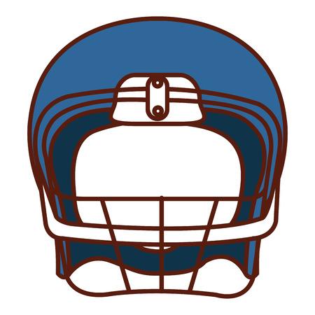 american football helmet icon vector illustration design Stock Vector - 82409493