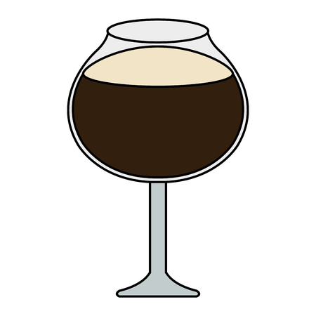 wine cup isolated icon vector illustration design 向量圖像