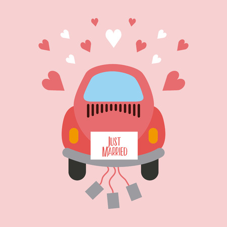 just married happy icon vector illustration design graphic