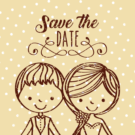 save the date special icon vector illustration design graphic Reklamní fotografie - 82528489