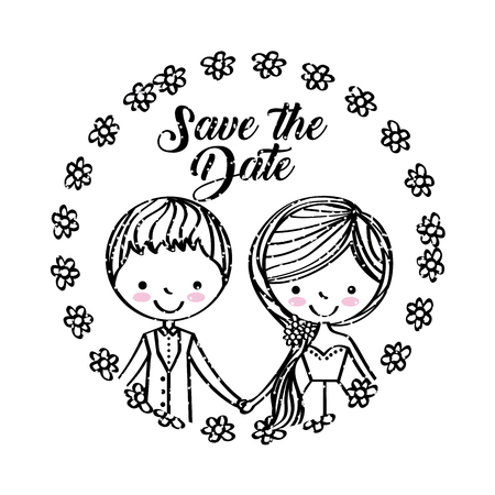 important date: save the date special icon vector illustration design graphic Illustration