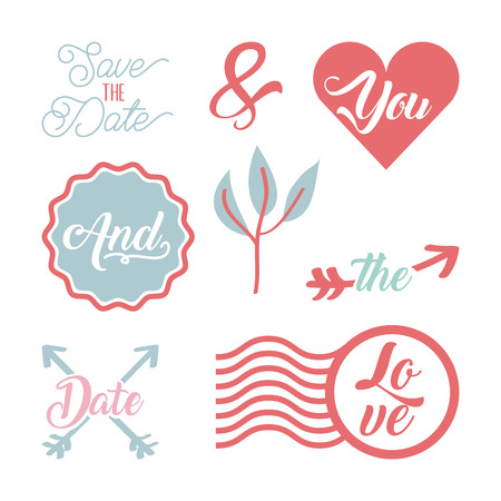 save the date special icon vector illustration design graphic Ilustração