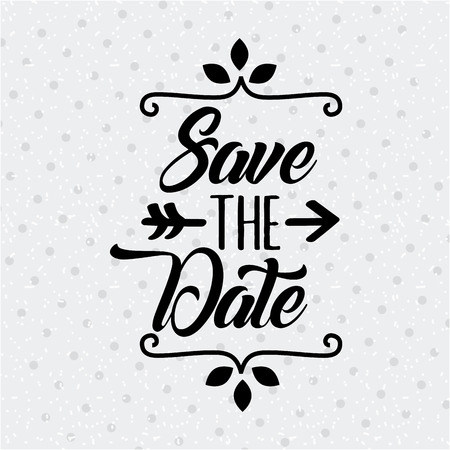 save the date special icon vector illustration design graphic Reklamní fotografie - 82558308