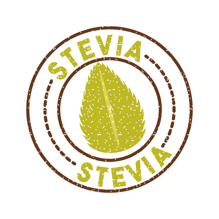 Stevia natural sweetener icon vector illustration design graphic Ilustração