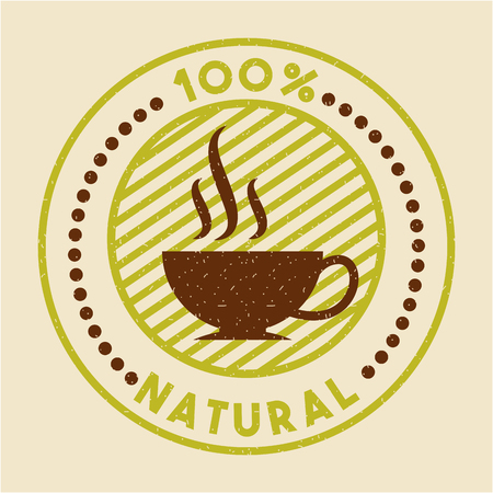 コーヒー ステビア天然甘味料のアイコン ベクトル イラスト デザイン グラフィック 写真素材 - 82577998