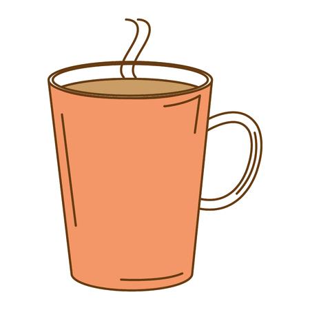 koffiemok geïsoleerd pictogram vector illustratie ontwerp Stock Illustratie