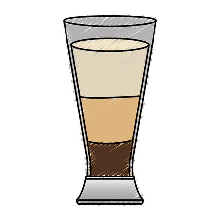 coffee shake fresh icon vector illustration design Illustration
