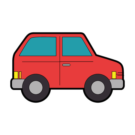 Car vehicle icon over white background vector illustration Zdjęcie Seryjne - 82562538