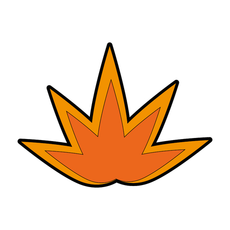 brand vlam icoon over witte achtergrond vector illustratie Vector Illustratie