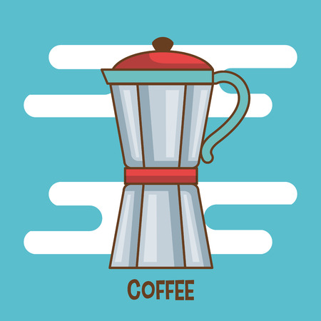macchiato: over white background drink vector illustration icon