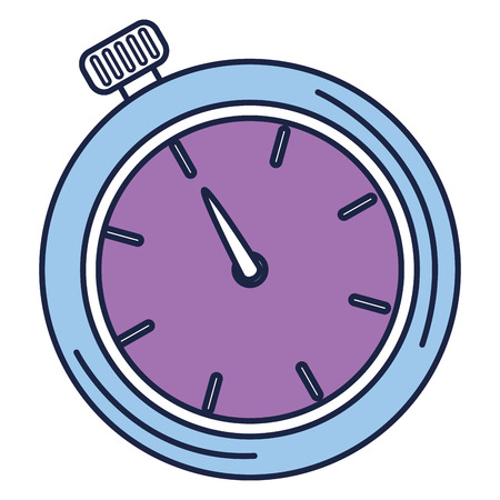 Cronometro cronometro isolato icona illustrazione vettoriale di progettazione Archivio Fotografico - 82575831